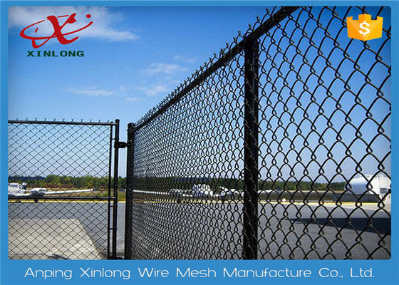Multi Function Diamond Wire Netting , Chain Link Mesh Fence Twist / Knuckle